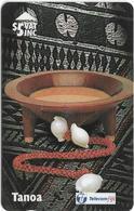 Fiji - Tel. Fiji - Fijian Handicrafts - Tanoa - 18FJC - 1996, 5$, 20.000ex, Used - Fiji