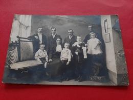 25 / CARTE PHOTO ALFRED HOOP BESANCON / FAMILLE CHANEY HETTUAGEL / DOS SCANNE - Besancon