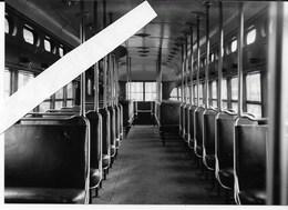 Woluwe Stelplaats,  Interieur Amerikaanse PCC 10419, Foto J. Voerman - Trains