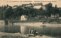 12143         LABRUYERE   VUE PRISE DE LA RIVE DROITE DU LOT - Other Municipalities
