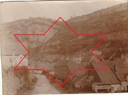 Photo Vers 1900 BAUME-LES-MESSIEURS - Une Rue (A219, Ww1, Wk 1) - Autres Communes