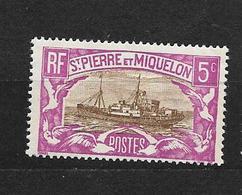 Saint Pierre Et Miquelon:n°139** (léger Défaut Sur La Gomme) - Ungebraucht