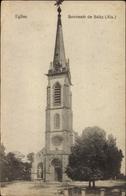 Cp Seltz Selz Elsass Bas Rhin, L'Eglise, Blick Zur Kirche - France
