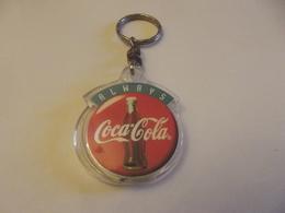 Jeton De Caddies Porte Clefs Coca Cola Always - Jetons De Caddies
