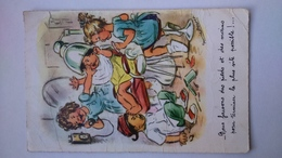 Carte Postale ( BB9 ) Ancienne Illustrateur , BOURET GERMAINE - Bouret, Germaine