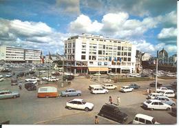 SAINT-BRIEUC - Place Duguesclin - N°1166 B.E.B. Caoudal éditeur (vers 1960) - Nombreuses Automobiles - Vente Directe X - Saint-Brieuc