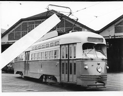 Charleroi Depot, PCC 10404, Mei 1960, Foto E. De Backer - Trains
