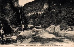 12153       LAMATIVIE   GORGES DE LA CERE   LE FLOTTAGE DU BOIS - Other Municipalities