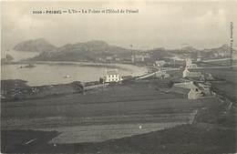 - Finistère -ref-E418- Primel - L Ile - La Pointe Et L Hotel De Primel - Hotels - Carte Bon Etat - - Primel