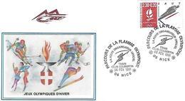 France - FDC - Albertville 1992 - Hiver 1992: Albertville