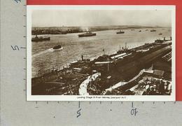 CARTOLINA NV REGNO UNITO - LIVERPOOL - Landing Stage & River Mersey - 9 X 14 - Liverpool