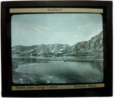 GOTTHARD - SUISSE - Glasplaten