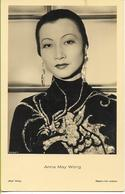 Anna MAY WONG    Actrice Paramount édition ROSS  (reproduction Verboten !) - Attori