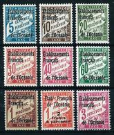 Oceanía (Francesa) Nº Tasa-1/9(*)/* Cat.38€ - Oceania (1892-1958)