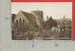 CARTOLINA NV REGNO UNITO - St. Martin's Church And Canterbury Cathedral - 9 X 14 - Canterbury