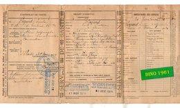VP16.883 - MILITARIA - Hopital De RODEZ 1914 - Certificat De Visite - Soldat PAJARD De COULOMMIERS Au 36 è Rgt Tal D'Inf - Documents