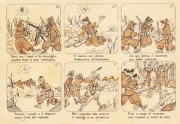 Franchigia Viag. 1943 P.M. 46 - Serie Vignette Atti Di Valore / Stan Tra I Sassi E  ........ - 1900-44 Vittorio Emanuele III