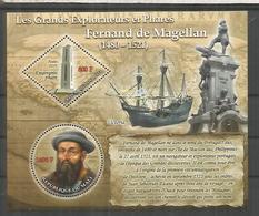 MALI HOJITA BARCOS SHIP EXPLORADORES MAGALLANES SAIL MAPA VICTORIA ELCANO - Onderzoekers