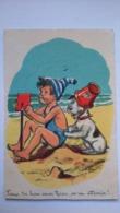 Carte Postale ( BB9 ) Ancienne  Illustrateur . BOURET GERMAINE - Bouret, Germaine