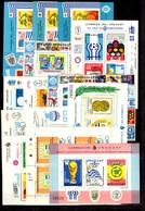 Uruguay 15 Blocs-feuillets Tous Numérotés Neufs ** MNH 1975/1978. TB. Asaisir! - Uruguay