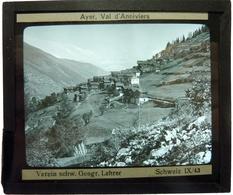 AYER . VAL D'ANNIVIERS - SUISSE - Plaques De Verre