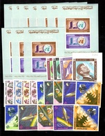 Jordanie Collection De Timbres Et Séries Non Dentelés Neufs ** 1964/1965. Bonnes Valeurs. TB. A Saisir! - Jordania