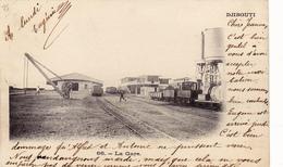 864/ Afrika, Djibouti, La Gare, Het Station 1904 - Djibouti