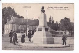 AUXERRE - Statue D'Alexande Marle. Homme D'Etat Né En 1797, Mort En 1870 - Auxerre