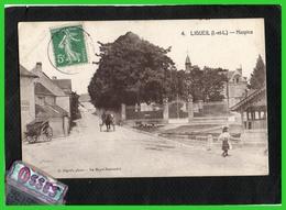 LIGUEIL ( I.- Et  L.) Hospice (recto Verso) - Sonstige Gemeinden