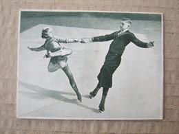 Ice Skaters - Olympics / Picture, Clip From A Cigarette Box ( 25 Zigaretten Österr. - Tabak Regie ) - Otros