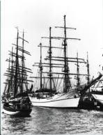 Press Photo: The Bark Guayas From Ecuador In Kiel. Size: 17,5 X 24 Cm (LAR9-21) - Photographs