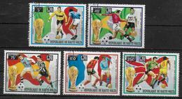 HAUTE VOLTA   N° 320/21 PA 171/73  Obliteré   Cup 1974  Football Soccer Fussball - 1974 – West Germany