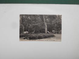 CPA AVON FONTAINEBLEAU PENSION DE FAMILLE MARIE FRANCE UN COIN DU JARDIN  ECRITE 1930 - Avon