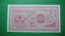 Macedonia 25 Denari 1992, UNC. - Macedonia