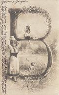 Lot De 5 Cartes Alphabet De L'arbre   /////   REF. FEV. 20  //// N° 10479 - Fantaisies