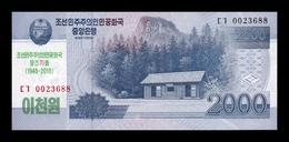 Corea Korea 2000 Won Commemorative 2008 (2018) Pick CS 22 SC UNC - Corea Del Nord