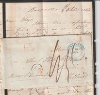 LAC Bruxelles -> Hollande  1844 - 1830-1849 (Unabhängiges Belgien)
