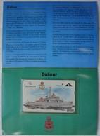Telecarte Belgacom Zeemacht Force Navale Belge ABL Draguer Chasseur De Mine DUFOUR M903 Marine - Télécartes
