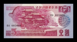 Corea Korea 5 Won 1988 Pick 36 SC UNC - Corea Del Nord