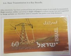 O) 1963 ISRAEL, PROOF, ENERGY - COMPLETE STOCKADE AT NIGHT AND TOWER VILLAGE - SC 236 - MNH - Non Dentelés, épreuves & Variétés