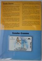 Telecarte Belgacom Zeemacht Force Navale Belge ABL Ketch Voilier Zenobe Gramme Marine - Télécartes