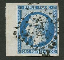 25c PRESIDENCE (n°10) Bord De Feuille Obl. PC 3761. Signé SCHELLER. Superbe. - Francia