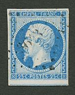 15c (CERES N°15c) Variété RETOUCHE DELACOURCELLE (M Et I Plus Petit) Obl. RARE. Certificat ROBINEAU (2003). Cote 700€. S - Francia