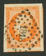 40c (n°16) Marges Exceptionnelles (3 Voisins) Obl. PC 1818. Trace De Pli Imperceptible Hors Timbre (dans La Marge Inf.). - Francia