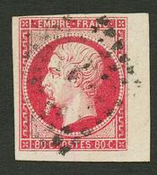 80c (n°17) Coin De Feuille Obl. Signé BRUN. Superbe. - Francia