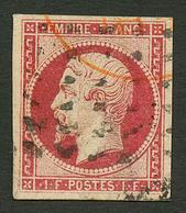 1F EMPIRE (n°18) Obl. GROS Points. Cote 3750€. Signé BRUN + BEHR. TTB. - Francia