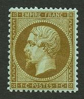1c MORDORE (n°19b) Neuf **. Cote 400€. Fraicheur Postale. Certificat LA POSTALE. Superbe. - Francia