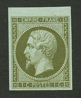 1c (n°11) Neuf ** Bord De Feuille. Fraicheur Postale. Signé CALVES. Superbe. - Francia