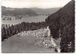 Lac De Longemer. Terrain De Camping De CGU. En Avion Au Dessus De... Edit Lapie - Xonrupt Longemer