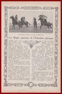 Les Règles Générales De L'éducation Physique. Texte Du Capitaine Royet, Conseiller Technique Des éclaireurs De France. - Documents Historiques